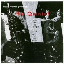 PARKER/GILLESPIE/POWELL/+ - THE QUINTET-JAZZ AT MASSEY HALL (REMASTERED) CD NEW!