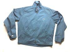 Vintage Izod Lacoste  Windbreaker Cruiser Jacket M Blue/ Light Blue