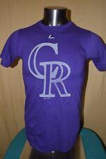 Majestic Mlb Mens Colorado Rockies Baseball Shirt Nwt $26 S, M, L, Xl, 2Xl