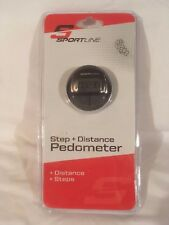 Sportline Step and Distance Pedometer