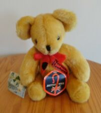 Norman Rockwell Teddy Bear British Wool by Deans Republican Third Series #321