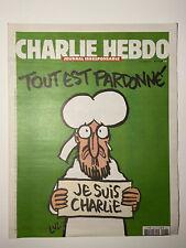 Charlie Hebdo 1178 Paris 14.Januar.2015 Original Ausgabe NEU