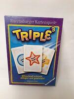 TRIPLE 3 - DAS KARTENSPIEL - RAVENSBURGER - VON MAUREEN HIRON -