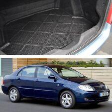 Rear Car Boot Cargo Trunk Mat Tray Floor Mat for Toyota Corolla Sedan 2002-2006