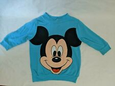 Vintage 80's Kids Mickey Mouse SweatShirt Size 4 Small