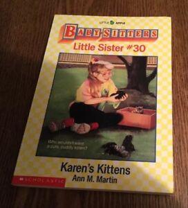 Baby-Sitters Little Sister #30 Karen's Kittens 1992