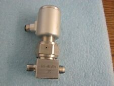 Nupro / Swagelok Model: SS-BNS4-2C.  SS High-Purity Bellows  Sealed Valve. <