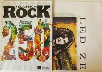 CLASSIC ROCK MAGAZINE Issue 250 July 2018 Led Zeppelin, Iron Maiden + CD