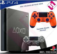 DAYS OF PLAY PS4 1TB 2019 PLAYSTATION 4 MANDO DUALSHOCK NARANJA EDICION LIMITADA