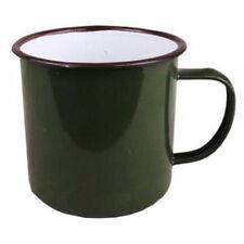Handmade Enamel Cup Mug Drinking Coffee Bear Tea Camping Hiking Vintage 8cm GH