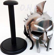 Gladiator Movie Maximus Helmet Roman Sparatn Larp Helm with Inner Leather Liner