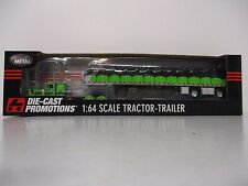 DCP Peterbilt w/Coverd Wagon Trailer 1/64th Scale New in Box #33406