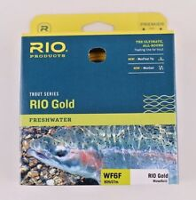 Rio Gold Fly Line WF6F Moss Gold Free Fast Shipping 6-21230