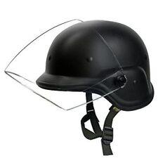 Tactique militaire Airsoft M88 PASGT Kelver Swat casque avec visière noir