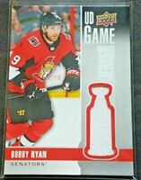 1x - 2019-20 Upper Deck UD Game Jersey Bobby Ryan
