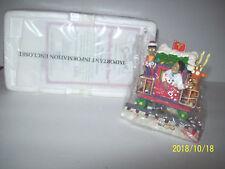 Spreading holiday cheer The Simpson Christmas Express train  box & coa