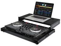 BLACK LABEL NUMARK NS6 II DJ CONTROLLER GLIDE STYLE LOW PROFILE CASE