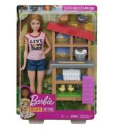 Barbie Doll Career You Can Be Anything Chicken Farmer