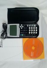 Texas Instruments TI 84 Plus Graphing Calculator Excellent W/USB Cable/CD/Manual