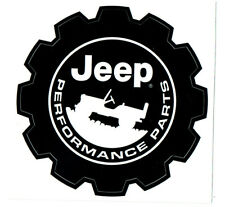 "JEEP PERFORMANCE PARTS Sticker Decal 3"" x 3"""
