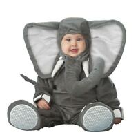Baby Elephant 0-24M Fancy Dress Animal Halloween Boys Infant Childs Costume New