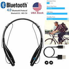Bluetooth Headphones Wireless Neckband Headset Sport Earphone For iPhone Samsung