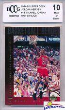1994/95 Upper Deck Jordan Heroes #43 Michael Jordan BECKETT 10 MINT Bulls HOF