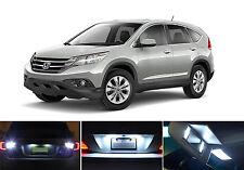 White LED Package - License + Vanity + Reverse for Honda CR-V (8 Pcs)