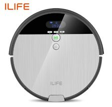 ILIFE V8s Robot Vacuum Cleaner and Mop Combo, XL 750ml Dustbin, Water Tank