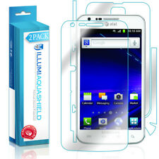 2x iLLumi AquaShield Screen + Back Protector for Samsung Galaxy S2 SkyRocket