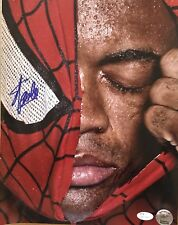 STAN LEE AND ANDERSON SILVA SIGNED 11X14 PHOTO JSA WITNESS LEE HOLO SPIDER-MAN
