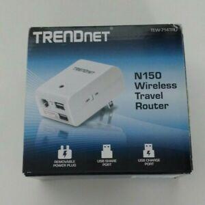 TRENDnet 150 Mbps 1-Port Wireless N Router (TEW-714TRU)