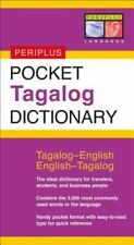 Pocket Tagalog Dictionary: Tagalog-english/english-tagalog by Renato Perdon (...