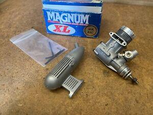 Magnum XL .46 ABC R/C Model Airplane Engine & Muffler