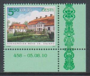 Estonia - 2010, Manor Halls stamp - MNH - SG 623
