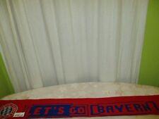 "FC Bayern München Original Fan Schal ""LET´S GO BAYERN"""