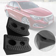2pcs Anti-slip Block Rubber Car Tyre Slip Stopper Wheel Alignment Block Tire