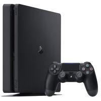 Sony PlayStation 4 Slim 500 GB Konsole - Schwarz (CUH-2016A)