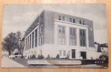 circa 1936 SALISBURY, MD, WICOMICO COUNTY COURT HOUSE BUILDING POSTCARD