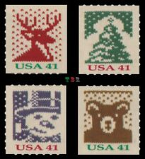 Holiday 2007 Knits 4215-18 4218 Set of 4 Singles From ATM Pane MNH - Buy Now