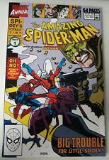 AMAZING SPIDER-MAN ANNUAL #24 (1990). ANT-MAN APPEARANCE. VF.