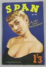 SPAN MAG DIGEST #42 FEB 1958 UK