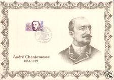 FRANCE ENCART SUR SOIE : ANDRE CHANTEMESSE