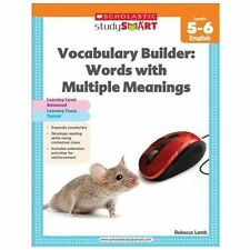 Vocabulary Builder: Words with Multiple Meanings, Level 5-6 (Paperback or Softba