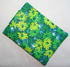 Handmade iPad mini & Kindle Fire case/cover/pouch. Vintage floral cotton fabric.