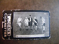 OGDEN'S TAB CIGARETTES TABACCO CARD THE ALL-ENGLAND TEAM  1901 SERIES C