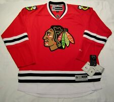 CHICAGO BLACKHAWKS - size XXL - Reebok Premier Hockey Jersey - bnwt - red - cdn