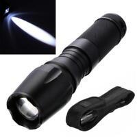 Lampe torche LED 15000 LM T6 Ultra Puissante Lampe de Poche Tactique Zoomable