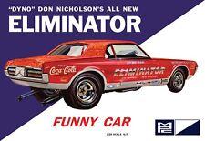 1968 Dyno Don Cougar Eliminator Funny Car 1/25 skill 2 MPC model#889