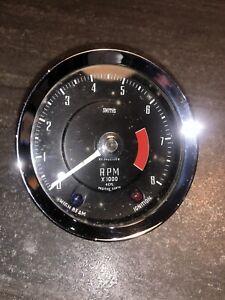 Smiths Lotus Elan Vintage Rev Counter Tachometer RVI2402 Obsolete Elan S1, 4 Cyl